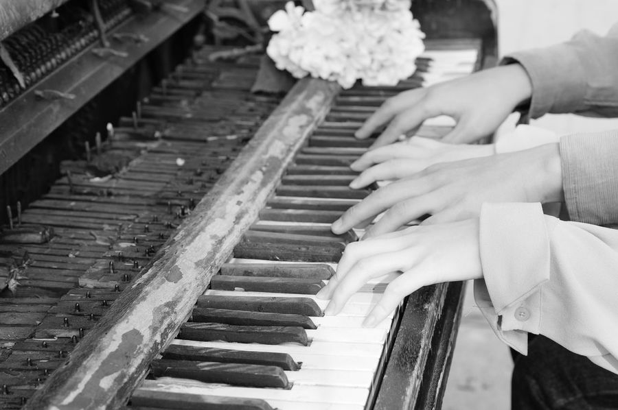 She and Him Piano Old Piano Piano Lover
