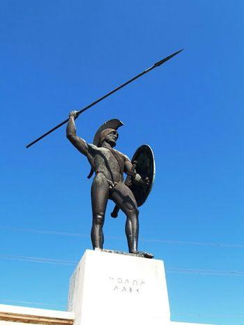 Greece Leonidas 300 Lamía Thermopules Summer Summer History Taking Photos Molonlave μολων Λαβε