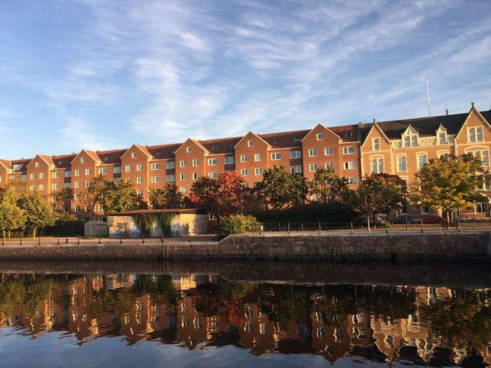 Street Photography Cityscape Reflection Autumn Water Reflections Iphonephotography IPhoneography IPS2015Fall