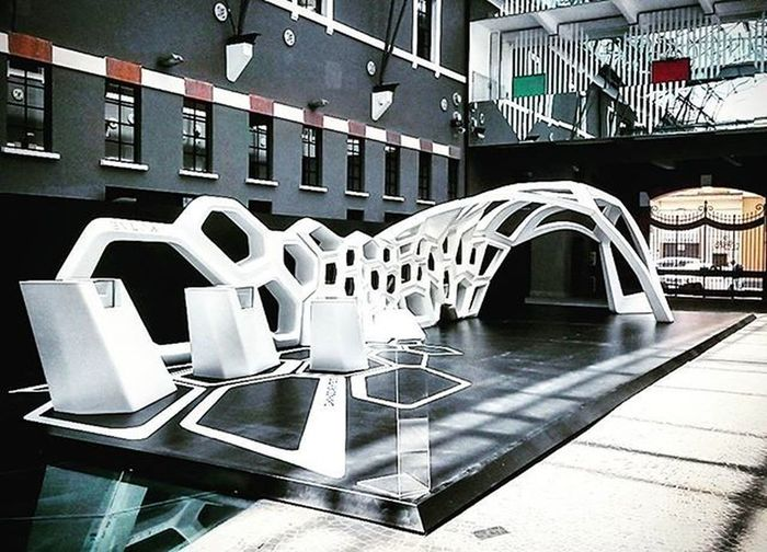 Zaha Hadid per Bulgari @ Macro Art Contemporaryart Architecture ZahaHadid Bulgari Macro Museum Installation Rome Roma The Architect - 2016 EyeEm Awards