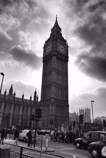 Shades Of Grey Houses of Parliament London UK