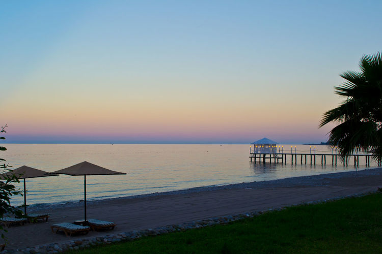 Beach Calm Coastline Distant Environmental Conservation Evening Horizon Over Water Landscape Melancholic Landscapes Ocean Outdoors Pier Relaxing Moments Relaxing Time Rippled Sand Sea Seascape Shore Tropical Climate Turkey Vacation Vacations Water Waterfront