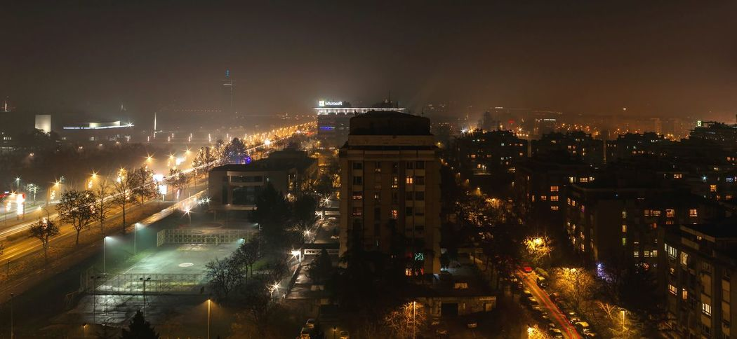 Nightphotography Long Exposure Longexposure Streetphotography Mist Misty Evening City Cityscapes City View