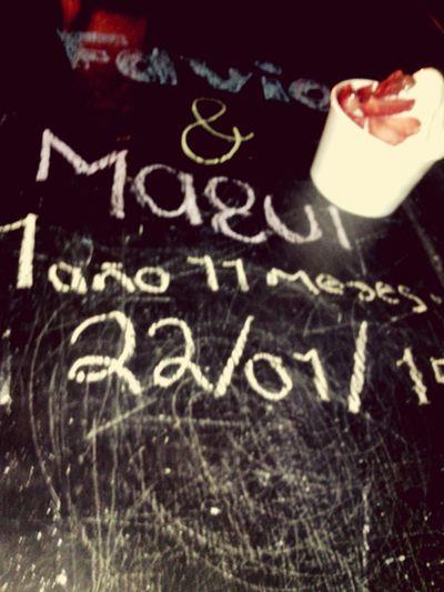 Un año 11 meses perfecto Carlos Favio My Boyfriend ❤ IsMyLife Love <3