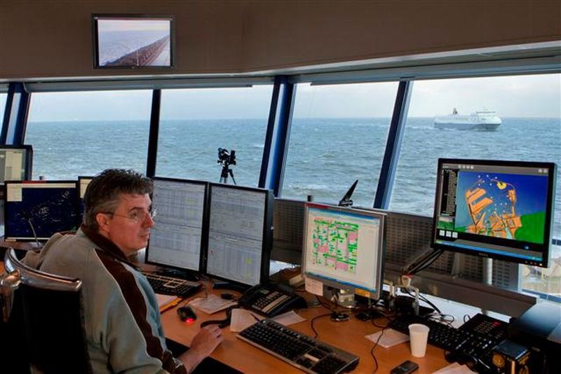 Working Zeebrugge Hello World Check This Out That's Me Enjoying The View Brugge Radar Vts