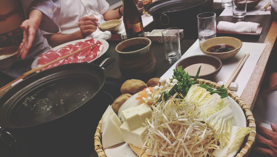 Yesterday shabu shabu😋 Food Ready-to-eat Food And Drink Relaxing Eating Dinner Enjoying Life Taking Photos View Enjoyment Lifestyles Night