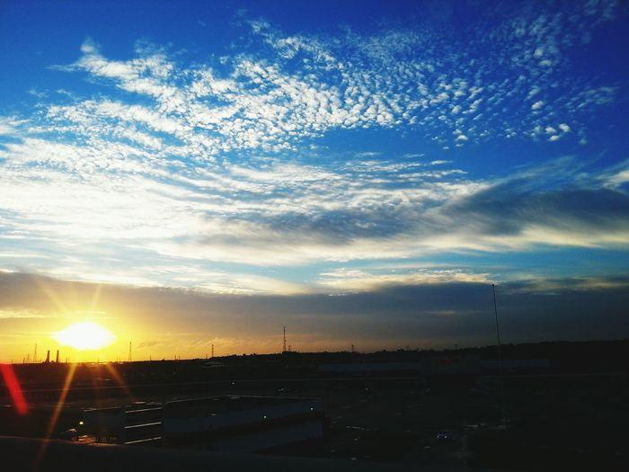 The Calmness Within Sunrise Hello World Morning