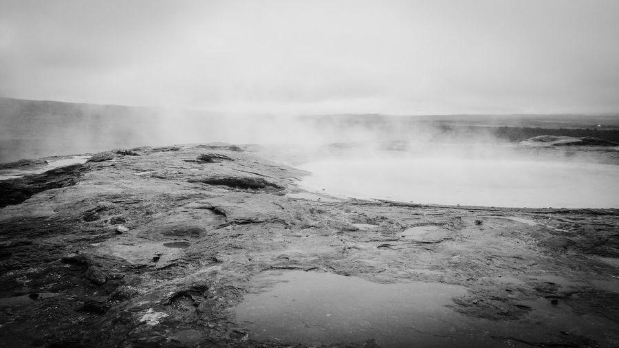 Iceland_collection Bw_ Collection Blackandwhite Monochrome Strokkur Geysir Iceland Eye Em Around The World From My Point Of View Eyeem Black And White EyeEm Best Shots - Black + White