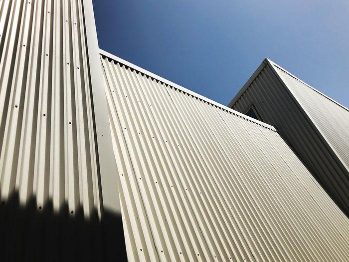 Minimalistic architecture geometric lines