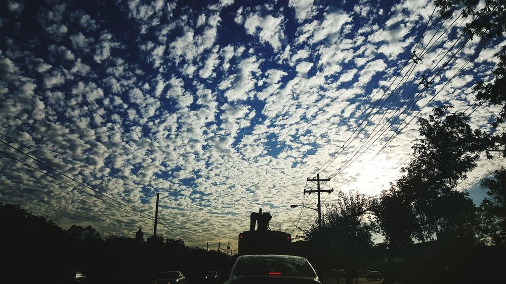 Sky Sky And Clouds Sheep Highwayscape Skyscape Blue Sky White Clouds Pattern Pieces
