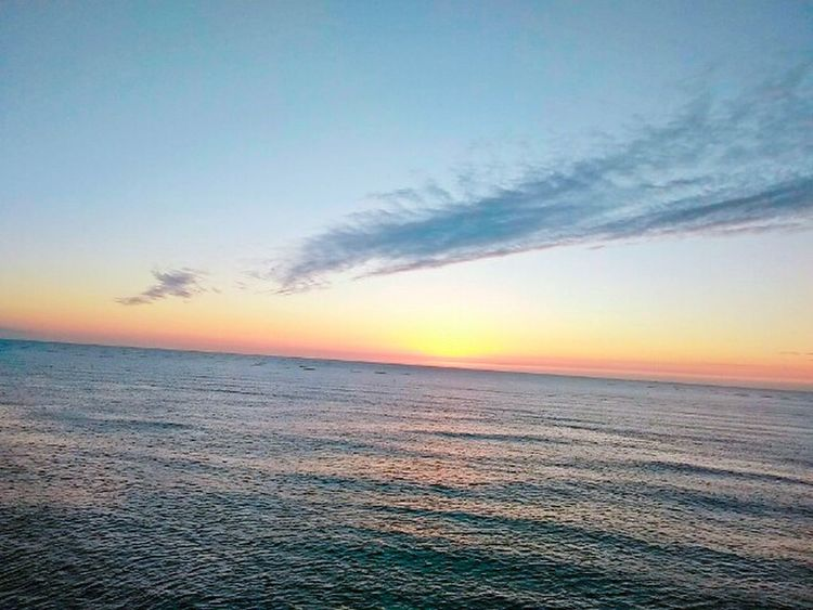 Sunset Sky Beauty In Nature Beach Nature Dramatic Sky Tranquility Sea Outdoors Horizon Over Water Scenics Landscape Ethereal No People Cloud - Sky Sand Tranquil Scene Water Day