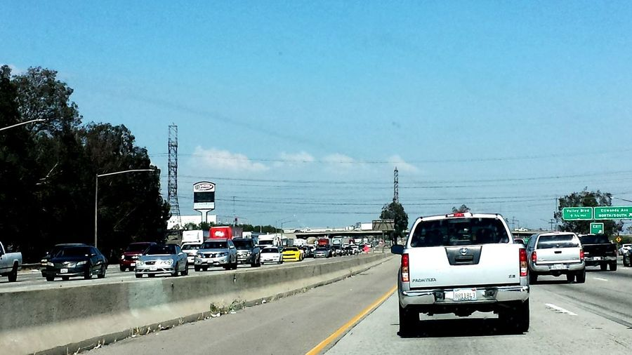 Cue the Traffic From Hell. River Bound