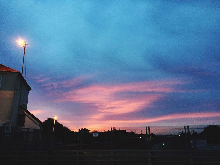 Sky Sunrise Colorsky