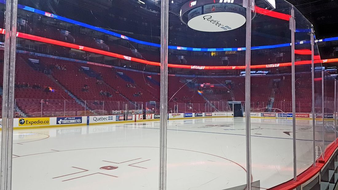 Centre Bell sports complex venue in Montreal, Canada. Seats and ice hockey field view. Centre Bell sports venue in Montreal, Canada during ice hockey game. Aggressive Action Bell Center Bell Center Montreal Centre Bell Centre Bell Montreal Competition Competitive Sport Games Hockey Hockey Arena Hockey Game Ice Hockey Ice Hockey Game Montreal, Canada Montréal Professional Sport Sportsmanship Stadium Stadium Stadium Architecture Stadium Atmosphere Team Venue