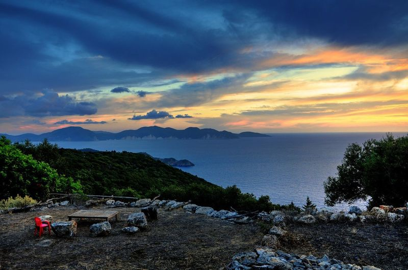 Landscape Sunsett