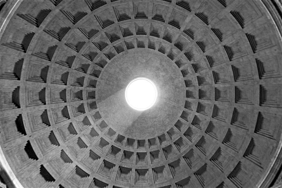 Circle Pantheon Rome Rome Italy Rome, Italy Roma Rome Italy🇮🇹 Ray Of Light Ray Of Sun Ray Of Sunshine Lightrays Circles In Circles Circles Pattern, Texture, Shape And Form Pattern Pattern Photography Patterns