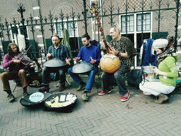 Photo Journalist 2016 EyeEm AwardsAmsterdam Holiday Hang Buskers
