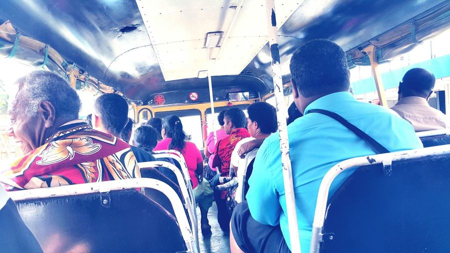 Public transport in Fiji is like riding on a bull, )the journey is rough & bumpy but less thrilling 😀😀😀 Suva DeeCeesBus VesivesiRoute MondayArvo