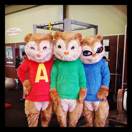 Just another day at work Alvin Simon Theodore Thechipmunks