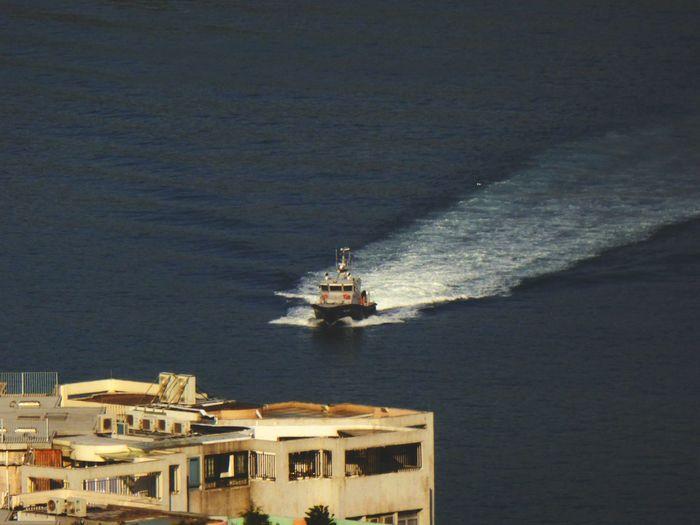 I'm On A Boat Urban Harbor Fluid Geometry