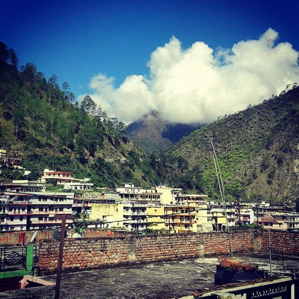 North Town Hills Forest Smalltown Himalayas Clouds Stratos Mountains Vallet Magestic Landscape Travel Sky Beautiful Woods