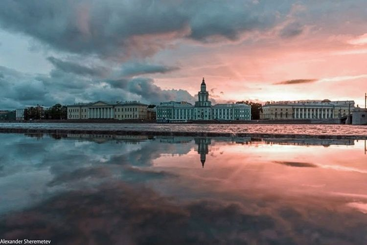 My lovely Saint-Petersburg.