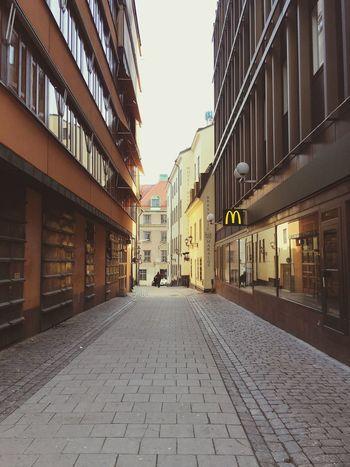 Stockholm, Sweden Architecture McDonald's