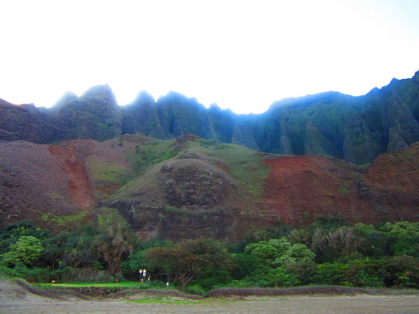 Beach Beauty In Nature Cliffs Hawaii Kauai Mountains Mountains And Sky Nature Ocean Outdoors Sky