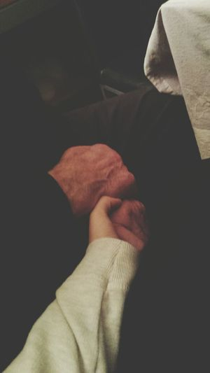 love you, grand-father♡ My Grandfather Lovehim♡ Cute♡ Hands