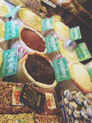 Les épices ? Spices Asian  Oldmarket Cambodia