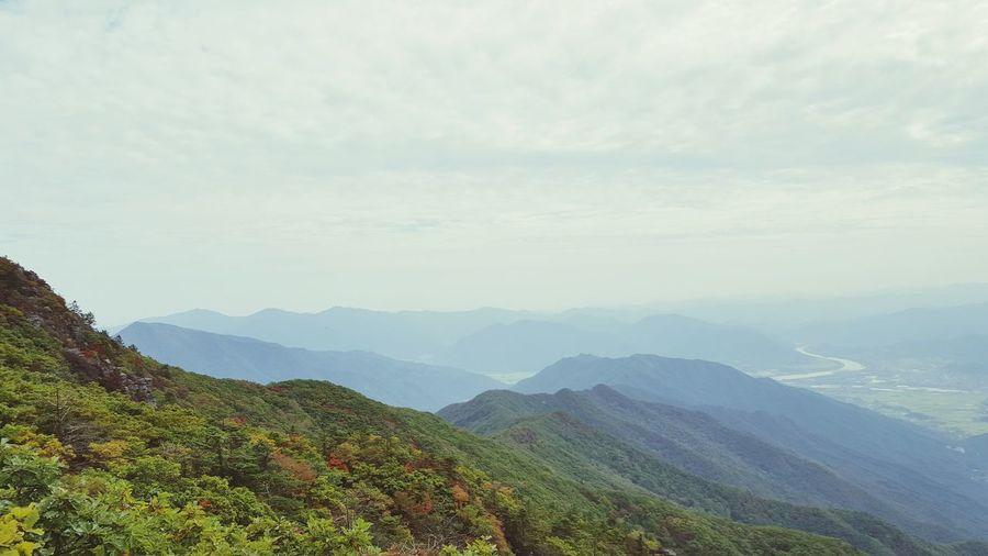 지리산 노고단 Jirisan Mt. Jiri Jirisan Mountain Mountain View
