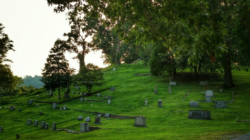 Cemetery Rolling Hills Headstone
