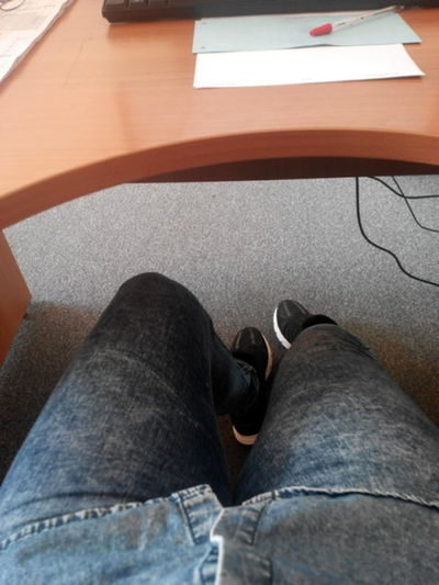 Atthework Boring Times Undertable Skechers Legs_only Relaxing Taking Photos Feeling Good Boring