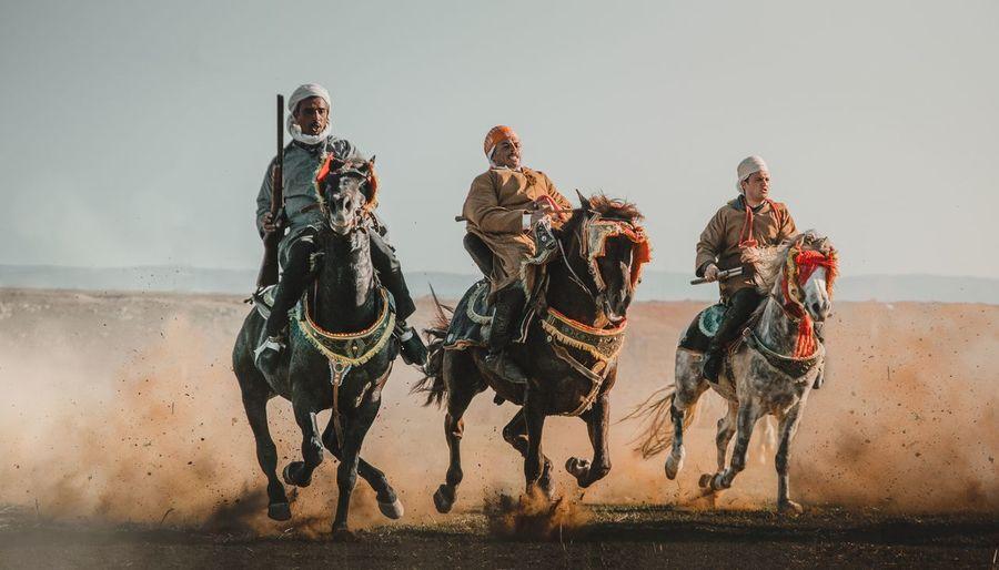 Fantasia in algeria