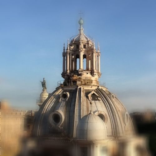 Architecture Church Dome Famous Place Grandebellezza No People Rome Sky Tourism