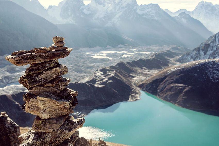 Balancing Act Gokyo Lake Seeing The Sights Nepal The Great Outdoors - 2016 EyeEm Awards Nature's Diversities