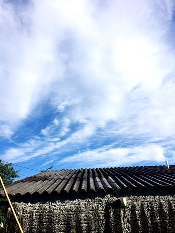 Sky Cloud - Sky Solar Energy Solar Panel Day Outdoors Low Angle View No People Alternative Energy Nature Architecture Solar Power Station EyeEm Tranquility Photography BrazilPhoto EyeEm Nature Lover EyeEm Best Edits