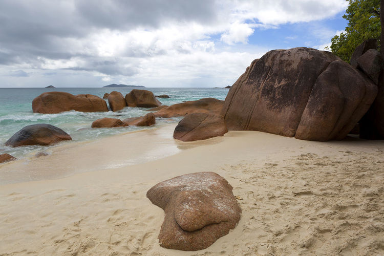 Anse Lazio Beach Beauty In Nature Coastal Feature Day Honeymoon Horizon Over Water Landscape Nature No People Outdoors Praslin Praslin Island Praslin Seychelles Rock - Object Scenics Sea Seychelles Seychellesisland Sky Travel Destinations Travel Photography Water Wave