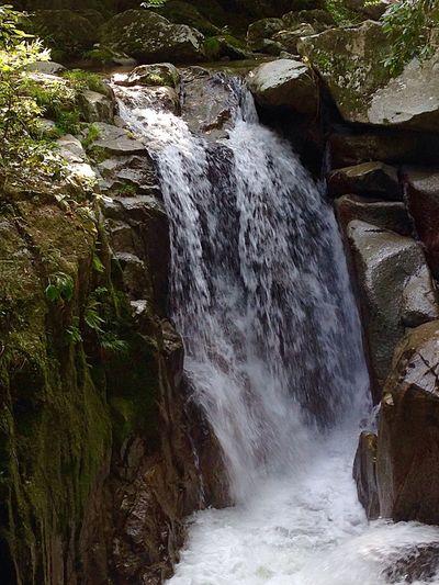 Beauty In Nature Water Waterfall Motion Blur mo Morning Light Natural Beauty Waterfall #water #landscape #nature #beautiful Japan Photography InKaratsu