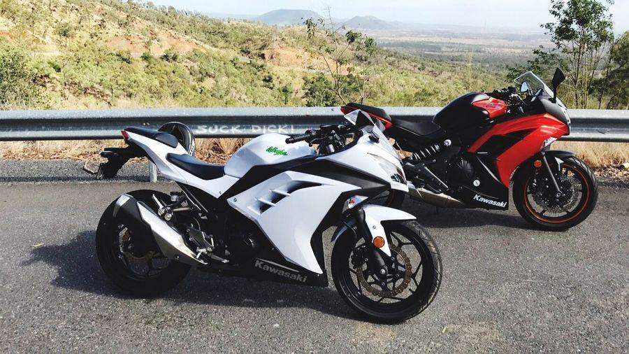 Lifestyles Outdoors Ninja300 ninja650 Motorcycle Sunlight Mates Aussie_lumberjack Openroad