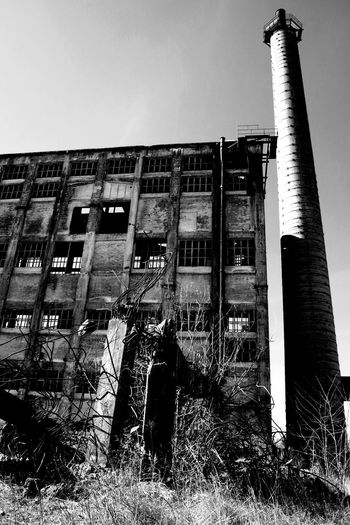 I wake up thinking of yesterday. The joy is in remembering; the pain is in knowing it was yesterday. Memories Outdoor Black & White Black And White Blackandwhite Sky Architecture Building Exterior Built Structure Run-down Bad Condition Ruined Broken Old Ruin Destruction Damaged