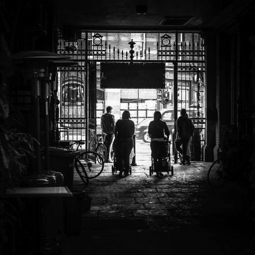 35mm B&w Street