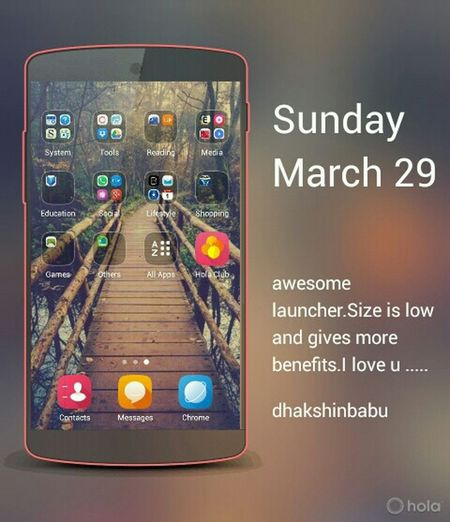 Launcher Theme must have it