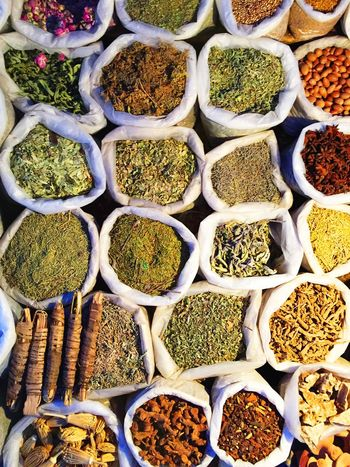 Abundance Arrangement Backgrounds Choice Collection Day Display For Sale Freshness Full Frame Growth In A Row Large Group Of Objects Market Market Stall Nature No People Order Outdoors Plant Repetition Retail  Sale Spice Variation