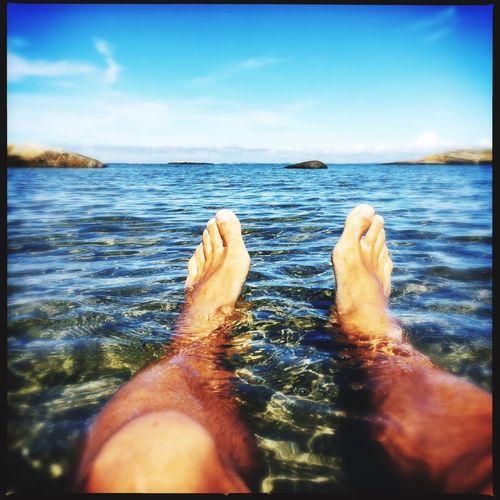 Water Barefoot