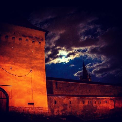 Targu Mures Citadel In The Medieval City
