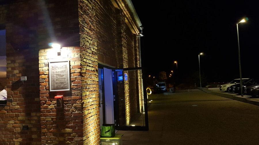 where I am now.... Zeche Westfalen EyeEm Selects Illuminated City Sky Architecture Building Exterior Built Structure Street Light Red Light Lamp Post High Street Lighting Equipment Light Trail Parking