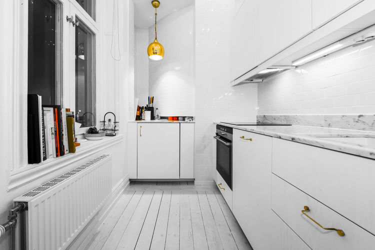 Swedish Interior Design. EyeEm Best Shots Interior Style Interior Views Interior Decorating Interior Detail Interiors White Kitchen Cabinet Day Domestic Room Indoors  Interior Interior Decoration Interior Design Interior Inspiration Interior Photography Interiordesign Kitchen Kitchen Life Kitchen Stories No People Popular Photos Stove Swedish Design White