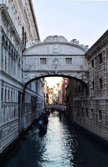Venice Water Peace Architecture White Stone Architecture Bridge - Man Made Structure Arch Built Structure Travel Destinations Outdoors City Building Exterior No People Sky