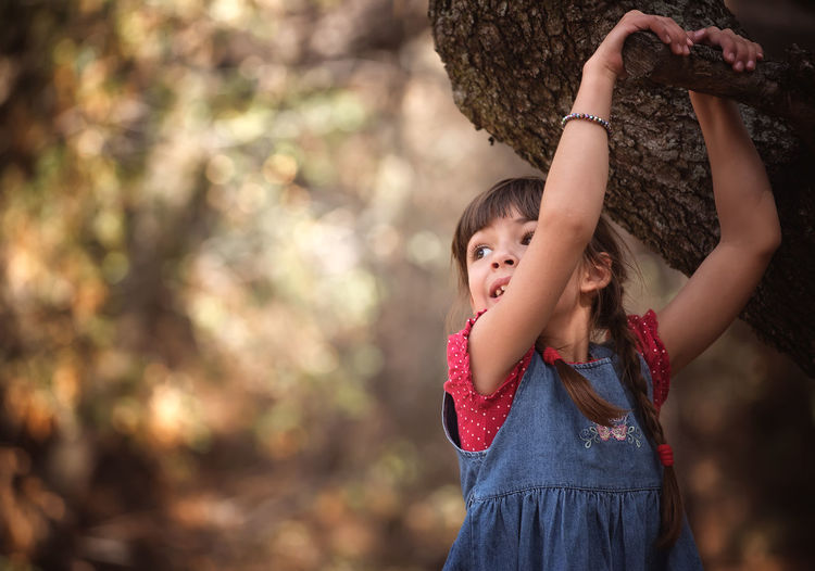 #Child #ChildhoodMemories #childhood #children Photography #forest #kids Playing #one Person #trees